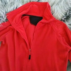 Coral Calvin Klein zip up